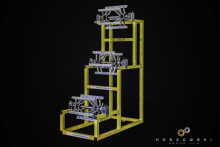 Upright Coil Rack