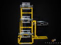 Upright Coil Rack with Side Decoiler